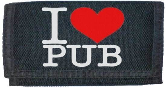 i love pub wallet a cool funny drinking gift pint lager cider bar 245177 p